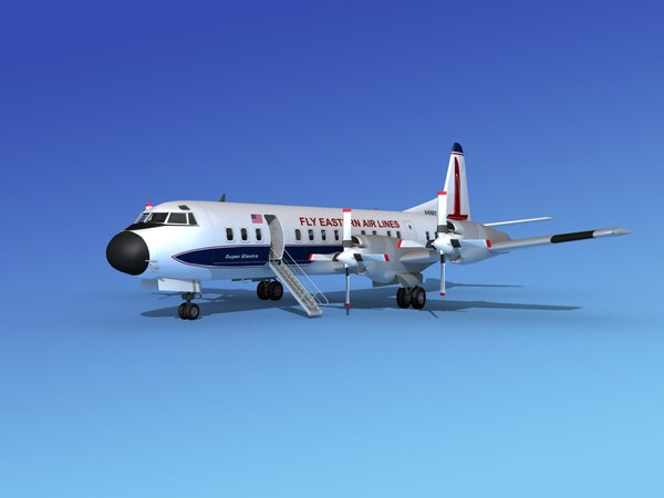 3d propellers electra airline lockheed