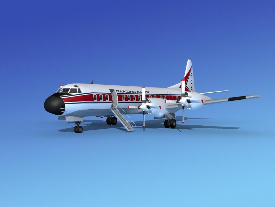 x propellers electra lockheed