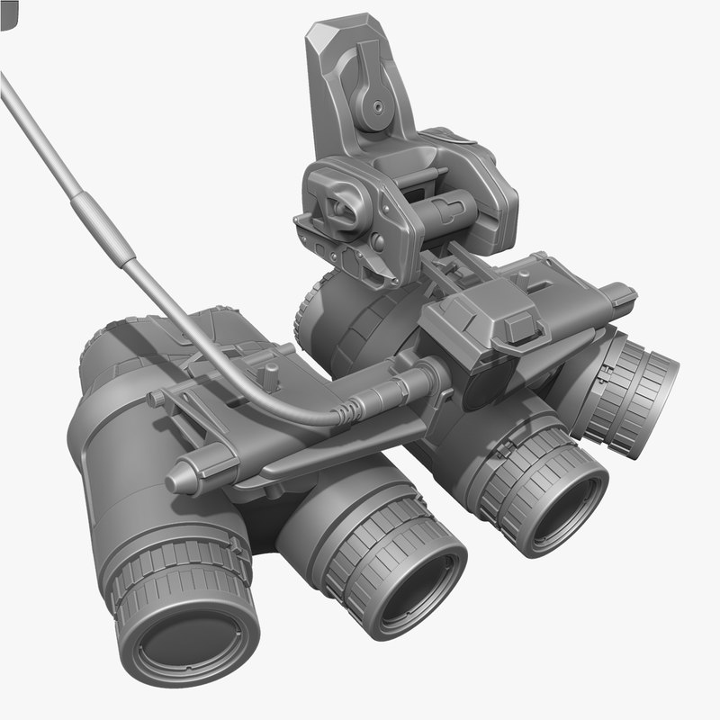 3d ground night vision goggles model