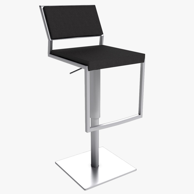 bar stool 07 3d 3ds