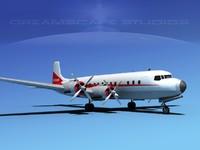 Douglas DC-7C Air Cargo Intl