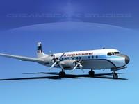 Douglas DC-7C Air Charter Intl