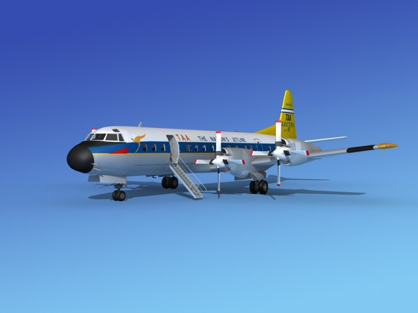 3d propellers electra lockheed model