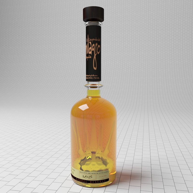bottle tequila milagro max