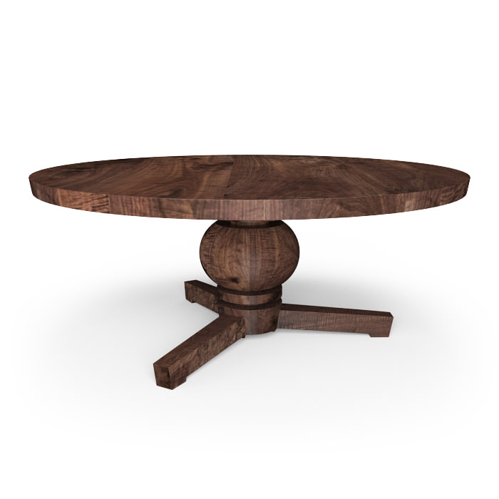 hudson manor table 3d model