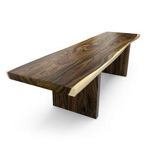 max hudson solid acacia table