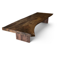 3d hudson claro walnut table model