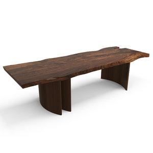 hudson b base table 3d max