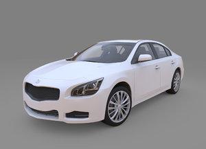 3d model generic car