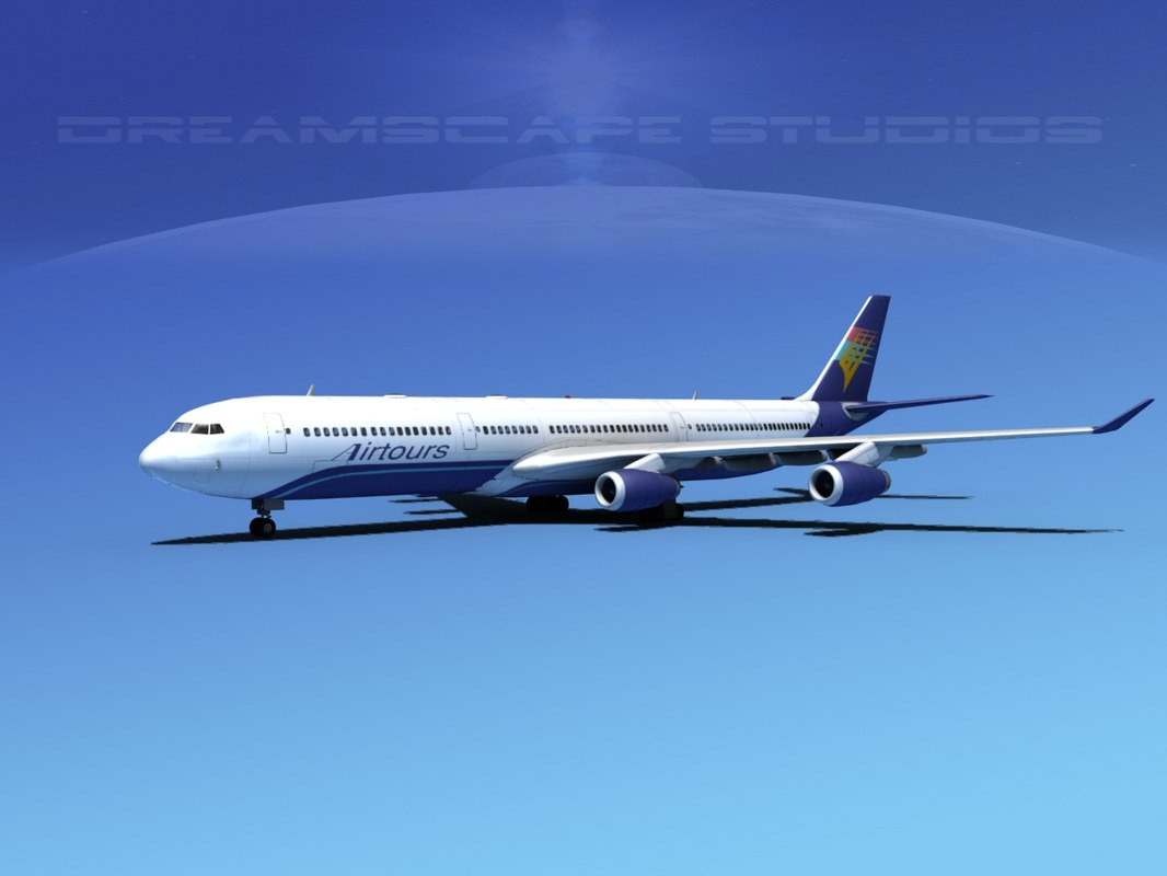 obj airline a340-600 airbus a340