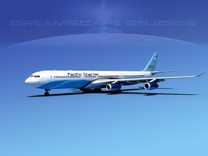 airline a340-600 airbus a340 dxf
