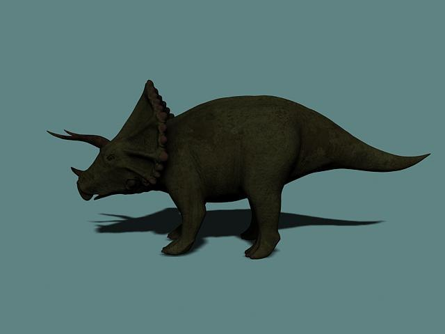 triceratops 3d max