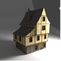 Game ready Tudor style house