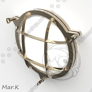 boat lamp 3ds