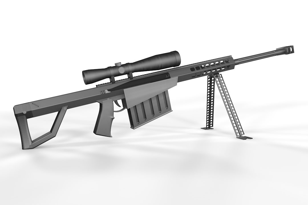 free c4d mode 50 cal sniper rifle