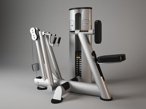 3d model f817 freemotion fitness