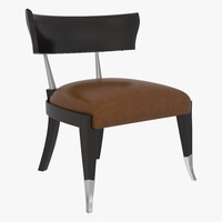 bernhardt caracole uph-chawoo-60a chair 3d model
