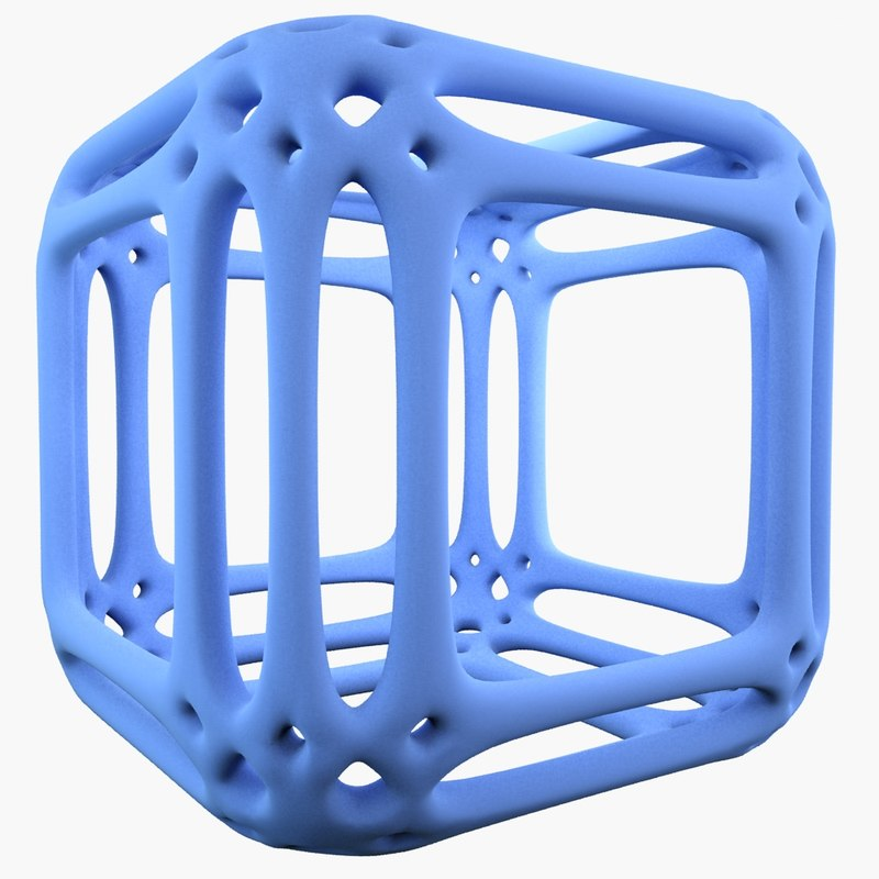 complex shape obj