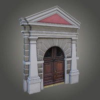 3d ornate door