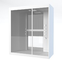 3d bathroom shower cabin model