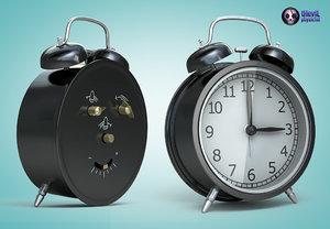 3d designed alarm clock