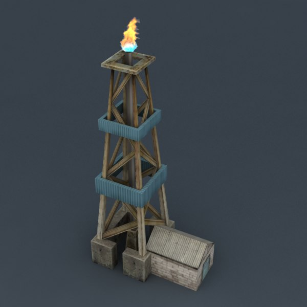 3d drilling rig