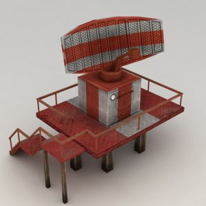 3ds max airport radar