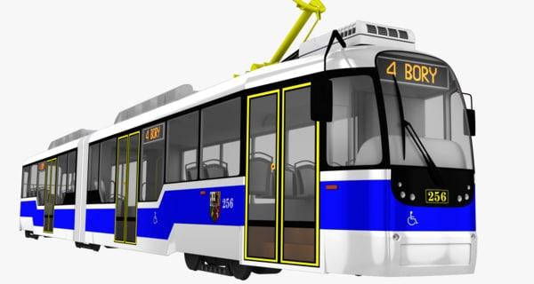 3d czech tram variolf2