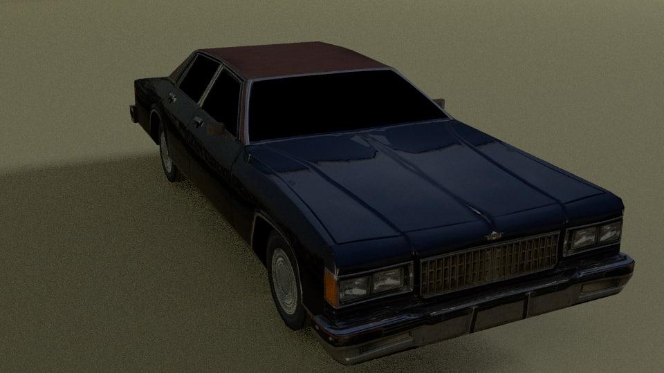 chevrolet caprice 3d model