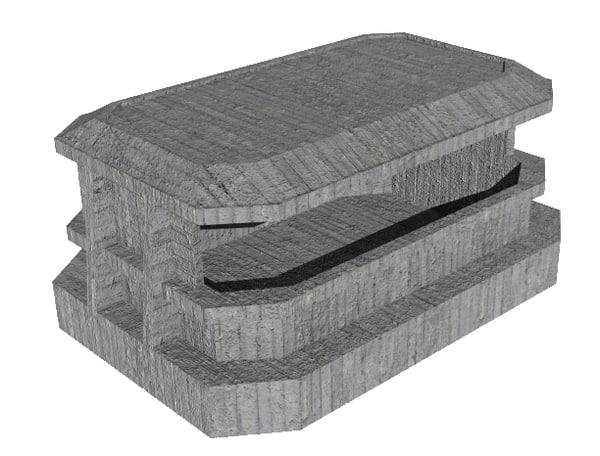 small bunker 3d model