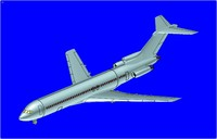 C-22 Transport Aircraft Solid Assembly Model