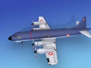 3d model orion lockheed p-3