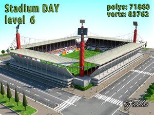 stadium level 6 3d model