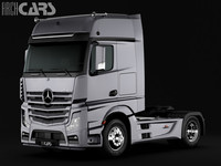 Mercedes Benz Actros Semi