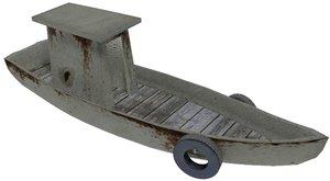 old boat 3d model