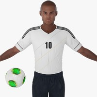 max soccer player character rigging