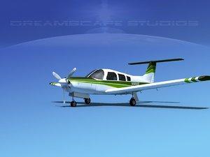propeller piper pa-28 arrow 3d 3ds