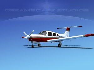 3d propeller piper pa-28 arrow