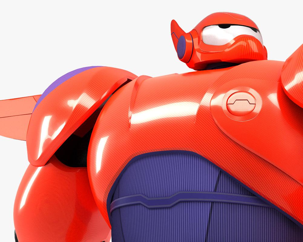 3d baymax big hero 6