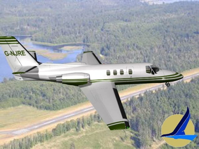 3ds scale cessna citation
