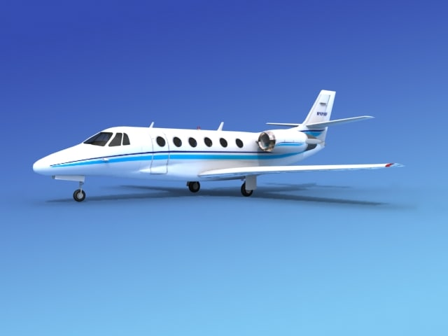 3d model scale cessna citation xls
