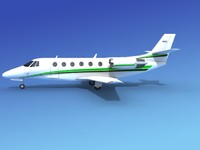 scale cessna citation xls 3d 3ds