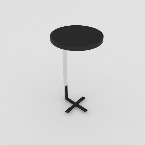 free garrett chair table 3d model