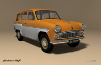 3ds mzma 423n moskvitch