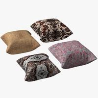 3dsmax pillows