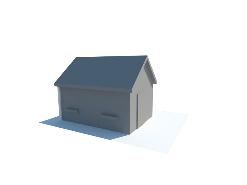 free home house 3d model
