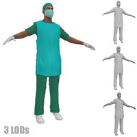 3d x 2 man protection model