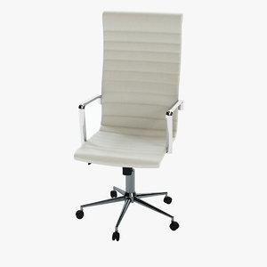 3d obj modern executive office