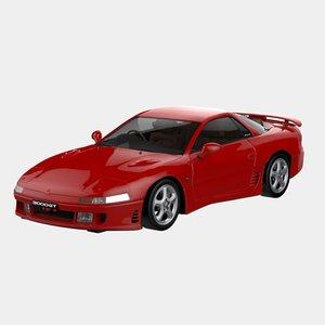 1990 mitsubishi 3000gt 3d 3ds