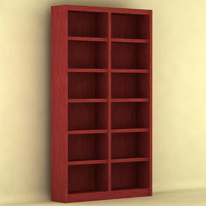 free 3ds mode bookcase